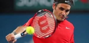 Federer Brisbane 1