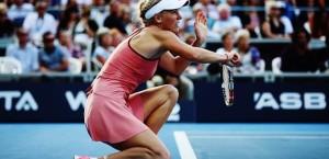 Wozniacki Auckland 1