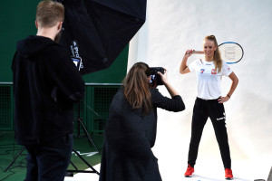 Photo Session of Fed Cup Team
